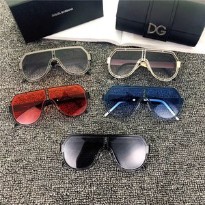 2020 new men Sunglasses Women Beautiful round Summer Style Full Frame Top Quality UV Protection Mixed Color Come With Box