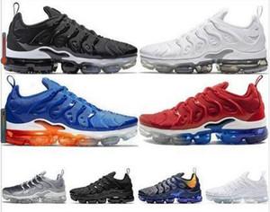 TN PLUS 2020 Vapores Triplo geométrico preto Ativo Fuchsia Lemon Lime Espírito Teal Running Shoes Designer Mens Mulher Sneaker Maxes Tamanho 12
