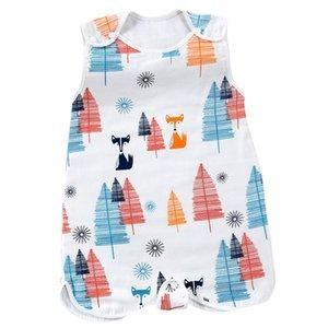 Baby Clothing Summer one-piece Pajama Sleep Bag Children Sleeping Cotton Sack Soft Sleeveless Baby Vest Sleep Bag Anti Kick