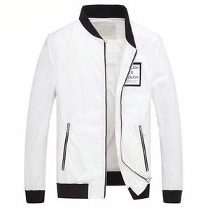 2018 Automne et Hiver pour Hommes Nouvelle tendance en matière d'auto-culture Baseball Vêtements Manteau à glissière Veste Manteau Hommes