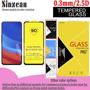 9D pleine colle écran en verre trempé protecteur pour OPPO RENO A / RENO3Pro / Reno ACE 2 / OPPO K3 / OPPO A31 2020 Dans la boîte de carton