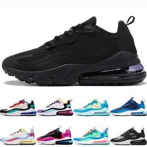 Yeni erkekler kadınlar Klasik Üç Siyah Sağ Menekşe Bauhaus Optik Turuncu Beyaz erkek spor ayakkabıları sneaker için Koşu ayakkabıları React Above