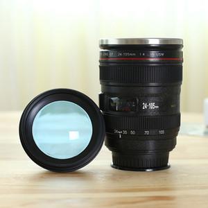 14oz Edelstahl Kameraobjektiv-Becher mit Deckel neuer fantastischer Kaffeetasse, Teetasse, für Geschenk A03