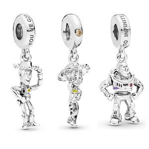 2019 الخريف 925 الفضة الاسترليني الخرز فضفاض يصلح لباندورا سوار جودة عالية قلادة سحر المجوهرات اكسسوارات DIY أزياء بالجملة