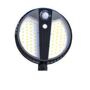 Led Solar Light 450LM PIR Motion Sensor Garden Wall Lamp For Outdoor Waterproof Lighting Security Lamp for Street Garden crestech