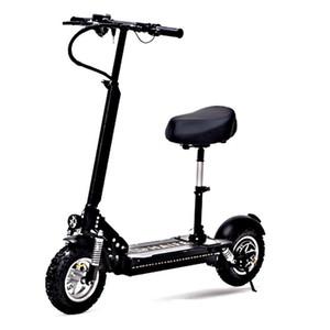 Daibot adulti elettriche bicicletta elettrica Scooter 11 Inch Single Motor 1000W 48V Potente Scooter elettrico a sedile per adulti