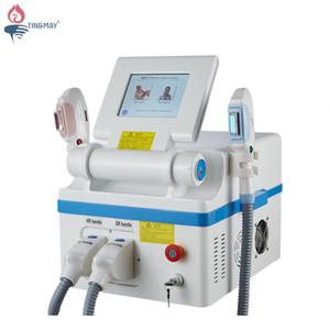 المهنية وفعالة اثنين من مقابض 360 مغناطيسي البصرية OPT SHR IPL آلة إزالة الشعر تجديد الجلد للاستخدام المنزلي واستخدام صالون