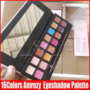 Augen Make-up 16 Farben Lidschatten-Palette Amrezy Lidschatten Shimmer Matte Lidschatten 16colors Lidschatten-Palette