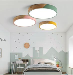 Nordic teto do quarto circular lâmpada quente simples moderna atmosfera retangular casa sala de teto de luz branca