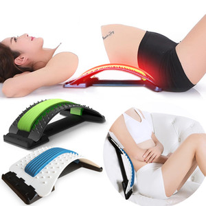 88 puntos de masaje Masajeador de espalda Camilla Lumbar Apoyo de columna Quiropráctico Masaje Compañero Relajación Estiramiento físico Herramienta Aliviar el dolor