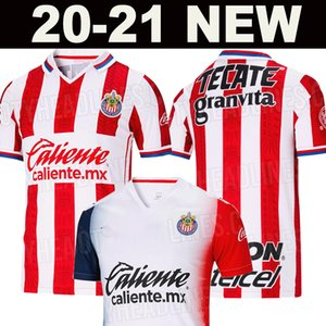 20 21 Thailand Chivas soccer jersey 2020 2021 liga mx chivas Guadalajara Home away BRIZUELA 3rd football shirt PULIDO Camiseta de futbol