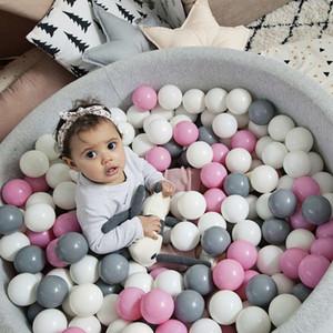 100/200 Unids Ocean Ball Pit Baby Kid Bath Swim Toy Niños Piscina de agua Pelota de playa Soft Plastic Toys Recién nacido Fotografía Prop SH190913