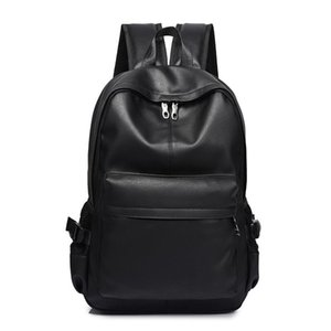 hot Fashion man Backpack man's Backpacks for Teenager Luxury Designer PU Leather Backpacks Male High Quality Travel