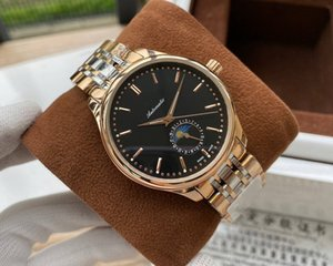 2019 2020 high quality moon phase men Watch eight needles Watches mens watch00 watch [not off shed wool] D2631
