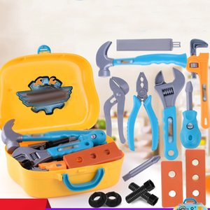 Kids Portable Tool Box Toy Set Simulation Repairing Tools Pretend Playing House