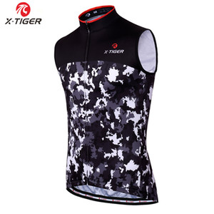 X-Tiger Cycling Pro Vest Racing Bicycle Clothing Breathable Sleeveless Cycling Jersey Men's MTB Bike Clothes Roupa Ciclismo