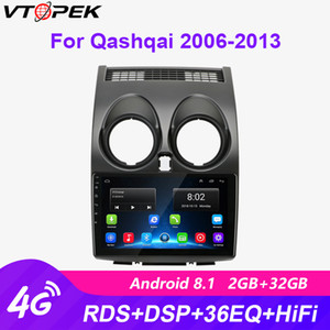 "Vtopek 9"" Android Car Radio RDS DSP Multimedia Player Qashqai 2006-2013 FM AM RDS DSP Auto Audio Navigation GPS 2 Din Dvd car dvd"