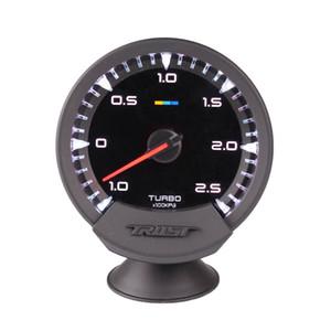 Nuevo 60 mm 2.5 pulgadas GReddy Sirius Racing Gauge Turbo Boost Gauge Sensor de 7 colores