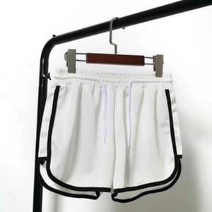 Frauen Deigner Sommer Sportsshorts Frauen Drei-Punkt-Running Hose lose beiläufige Ultra-Shorts Hot Pants Außen Top-Qualität Großhandel