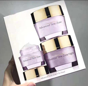 Wholesales Advanced Time Zone 3 to travel Day   Night face Lotion  eye cream Lotion moisturizing 3pcs travelling sets Top quality
