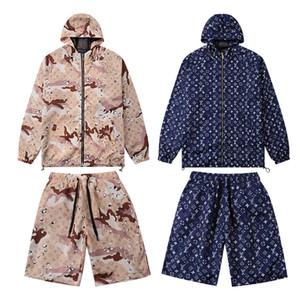 New Tracksuit Jackets Set Fashion Running Tracksuits Men Sports Suit Letter printing Slim Hoodies Clothing Track Kit Medusa Sportswear