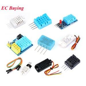 Temperatura ctive Componentes Sensores digitais e umidade Módulo Sensor 11 DHT12 DHT22 2302B 2301 AM2320 AM2302 HDS10 HR202 sensores para A ...