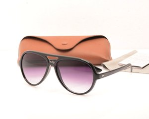 Fashion 4125 glasses Classic Mens sunglasses Brown Womens sunglasses Brand Designer Sun glasses protection Sun glasses with cases Brown boxs