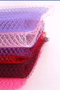 """10yard / lot 9"""" (22cm) Birdcage Veils Netting Chapellerie Chapeau voile pour les femmes bibi Veiling Coiffe ACC Bridal Veils"""