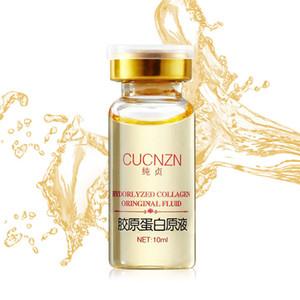 Hydrolyzed Collagen Original Fluid 10ML Face Care Face Serum Essence Oil Firming Skin Care Essence 6pcs