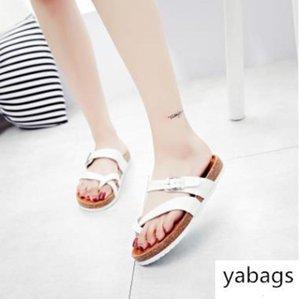 New Mayari Arizona Gizeh street summer Men Women black flats sandals Cork slippers unisex Sandy beah casual shoes print mixed size 36-43