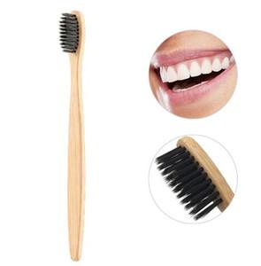 TURELLE bambou Brosse à dents à poils doux Eco Friendly Voyage Brosse à dents Oral Care Poignée en bois cepillo de dientes