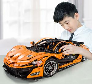 3228pcs particelle elementari Lego edificio di design blocco giocattoli per i bambini scherza il regalo Grande RC auto elettrica delle porte LED ragazzi compleanno Regali Giocattoli