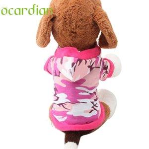 Ocardian дешевая одежда для собак футболки рубашки тройника Толстовка Камуфляж Пальто Толстовки собак любимчиков одежды