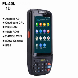 Pl-40l شاشة كبيرة 1d Bluetooth Android Barcode Scanner Pda Data Terminal Scanner T8190622