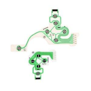 Yedek Kol Tuş takımı Tamir Parçaları Esnek sallayın SONY PS4 PlayStation 4 için Kontrolör İletken Film İletken Membran (2 adet)