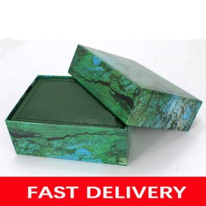 Fast Dlivery Luxury Watch Mens For High-end Luxury Watch Box Original Inner Outer Womens Watches Boxes Men Wrist Watch Green Box