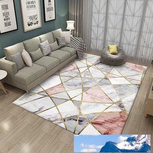 Yfashion moderne simple motif géométrique impression Tapis Tapis de sol pour Salon Chambre Sofa jeux pour enfants