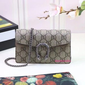 Top Quality Celebrity Design Letter Buckle Embossing Canvas Mini Shoulder Chain Bag Genuine Leather Woman 476432 Messenger Bag