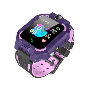 Q19 Kinder Kinder Smart Watch LBS Positionierung lacation SOS Smart-Armband mit Kamera Taschenlampe Wearable-Armbanduhr für Baby-Sicherheits-Studenten