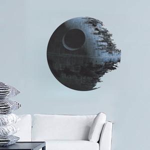 ZOOYOO War Death Star Vinilo Arte Etiqueta de La Pared Dormitorio Sala de estar 3D Decoración Del Hogar Etiqueta Desmontable pegatinas de pared para habitaciones de niños