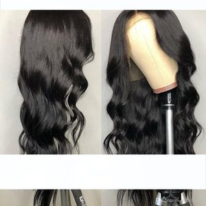 180 density Lace Front Human Hair Wigs Pre Plucked Hairline Brazilian Body Wave Lace Frontal Wig with Baby Hair for Women Remy