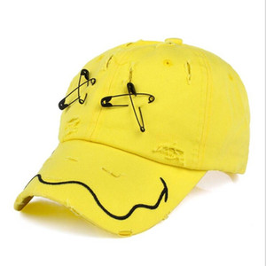 Seioum Men's Hats XX New Brand Hip Hop Snapback Caps GD Hat Pin Hole Cap women Baseball Cap Tide Hat Black Gorras