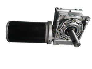DC والعتاد موتور 80ZYT165 440W 24VDC مع صندوق التروس الدودة 60: 1 IEC63B14 للقيادة محاكاة