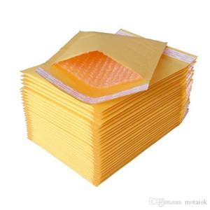 Bubble Конверты почтоотправители мешки крафт Упаковка Мешки Mailers самоклеющаяся Перевозка груз Пакет обновление Box Оптовая - 0007PACK