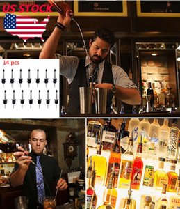 Botella de vino 14pcs Tapones preservador sellador al vacío Ampliación hermético Top camarero Accesorios Vino Boca descuento