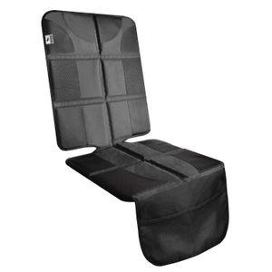 Car Seat Protector - dicke Polsterung für Baby-verstärkte Nähte Kanten, Anti-Rutsch-Extra Grip Netztaschen Backing
