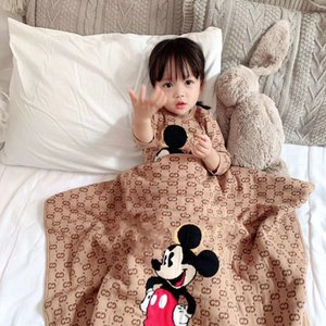 2020 Baby Spring Autumn Clothing Newborn Infant Baby Boy Girl Cotton Romper Knitted Ribbed Jumpsuit Solid Clothes Warm Outfit and blanket