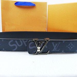 New Sale Original Leather Classic Old Flower Letter Buckle Belt Woman Summer Thin Waist Slim Belt Box Man Fashion Smooth Buckle Belt