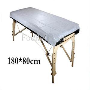 التدليك الطبي المتاح خاص غير المنسوجة سادة السرير صالون تجميل SPA مخصصة ورقة السرير
