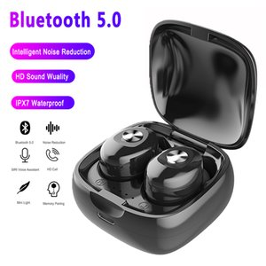 TWS Bluetooth Kopfhörer-Stereo-Funk Earbuds HIFI Ton Sport-Kopfhörer freihändiger Gaming Headset mit Mikrofon für Telefon 21